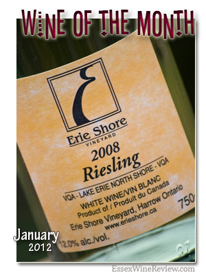 Essex Wine Review - Wine of the Month, January 2012
